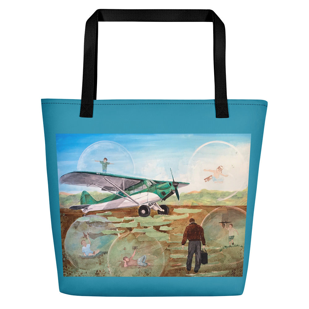Field of Dreams Beach Bag