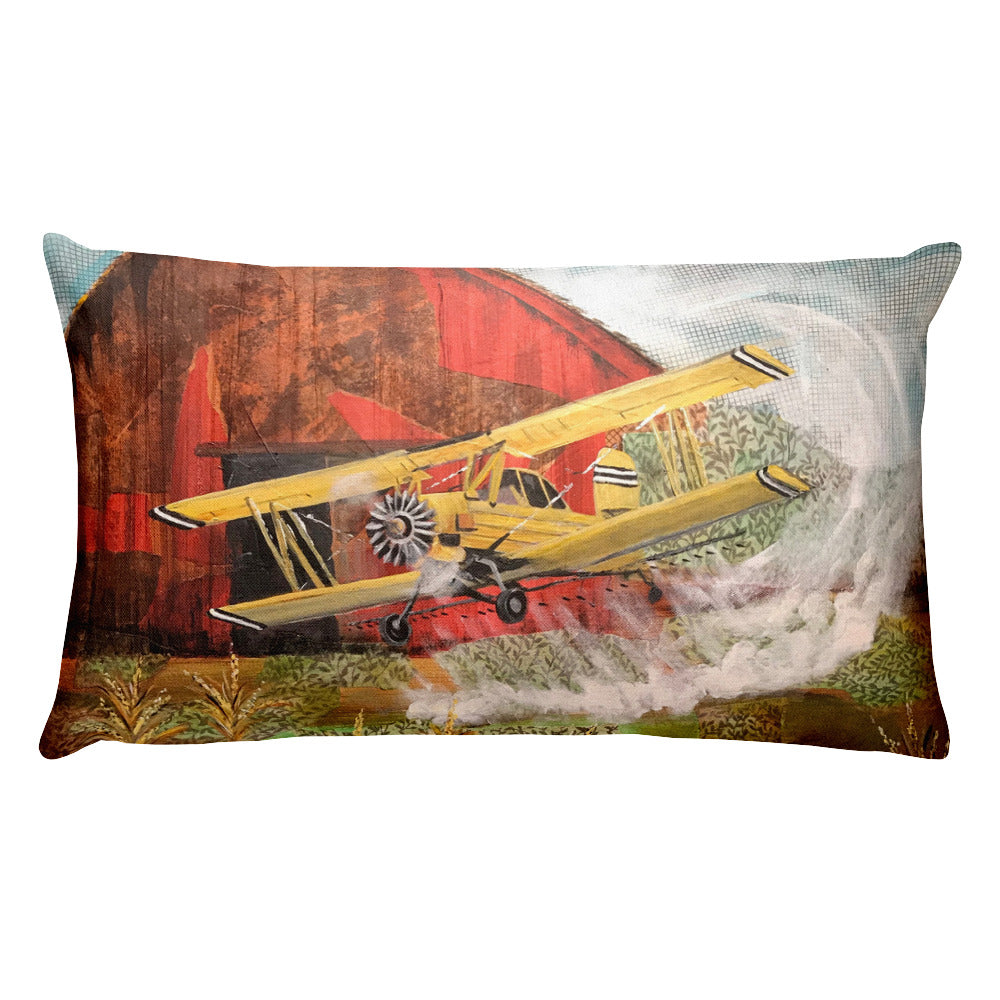 Crop Duster Premium Pillow