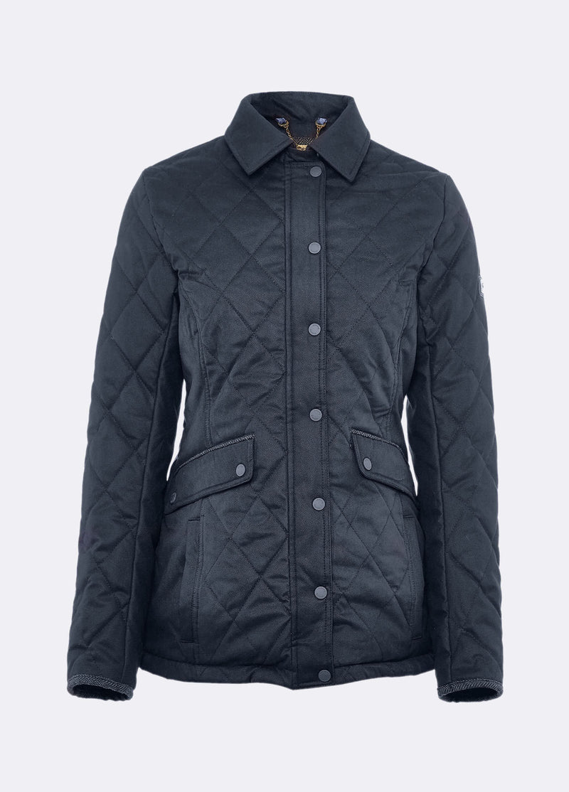 Women's Heaney Quilted Coat - Navy