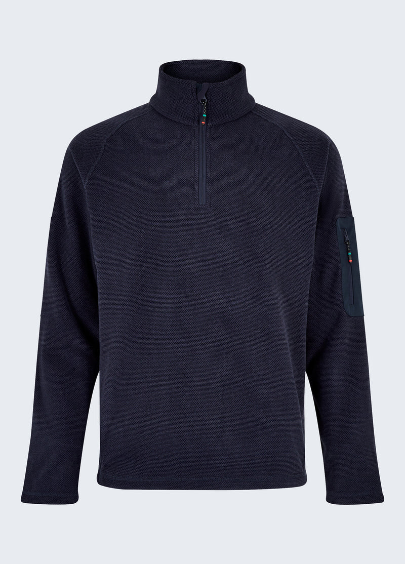 Monaco Unisex Quarter-zip Fleece