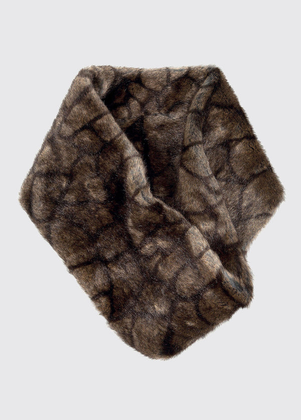 Greystones Faux Fur Snood - Elk