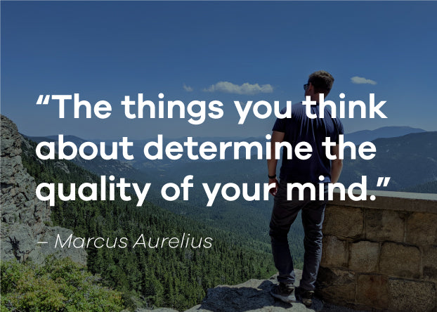 The things you think about determine the quality of your mind. Marcus Aurelius