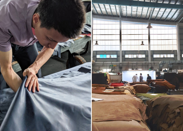 distil union partners with responsible tanneries