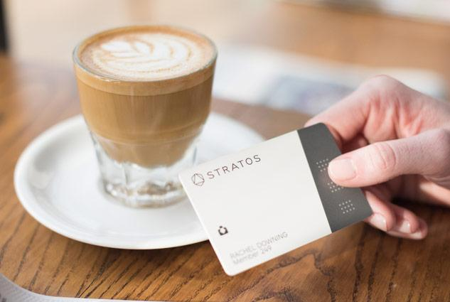 Stratos smart card membership program