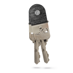 two attached keymod clicks with grey lining holding keys on a white backdrop