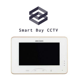Hikvision Access Control Video Intercom Indoor Station with 7-inch Touch Screen DS-KH8301-WT