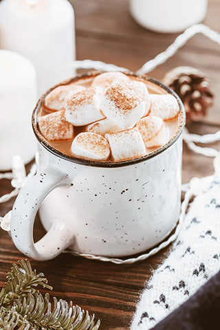 hot chocolate to chase the chill