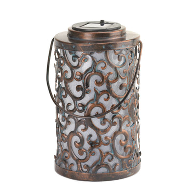 Garden Gate Solar-Powered Lantern - Lasting Impressions Shop
