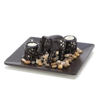 Elephant Tealight Set - Lasting Impressions Shop