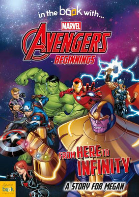 Personalized Marvel's Avengers Beginnings from Here to Infinity Story Book - Lasting Impressions Shop