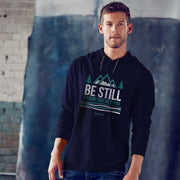 Be Still and Know - Long Sleeve Hooded Tshirt - Lasting Impressions Shop