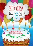 Personalized Children's Birthday Counting Book - Lasting Impressions Shop