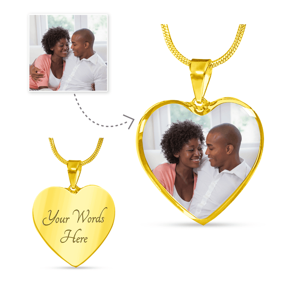 Unforgettable Heart Necklace or Bangle - Lasting Impressions Shop
