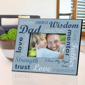 Personalized All-Star Dad Frame - Lasting Impressions Shop