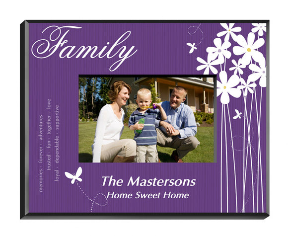 Bloomin' Butterfly Frame - Family - Lasting Impressions Shop