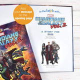 Personalized Marvel's Guardians of the Galaxy 2 Story Book - Lasting Impressions Shop