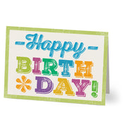 Happy Birthday Greeting Card From Hallmark® - Lasting Impressions Shop