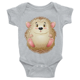Personalized Baby Onesie with Hedgie Design - Lasting Impressions Shop