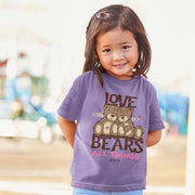 Love Bears - Christian Girl's T-Shirt - Lasting Impressions Shop