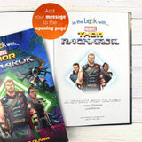 Personalized Marvel's Thor Ragnarok Story Book - Lasting Impressions Shop