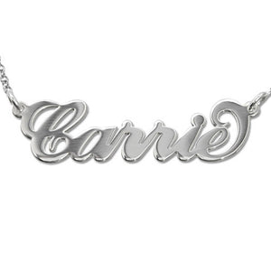 Unforgettable Custom Sterling Silver Name Pendant - Lasting Impressions Shop