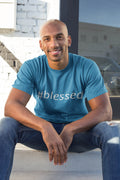 #Blessed Hashtag Men's T-Shirt - Lasting Impressions Shop