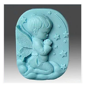 Silicone rubber  candle and soap mold.   Great for making gifts for others or yourself.
