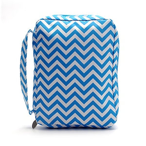 Ready to Ship 8 Colors Chevron Bible Bag Perfect Quality Book Cover With Handle Zipper Closure Design Can Be Embroidered