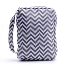 Load image into Gallery viewer, Ready to Ship 8 Colors Chevron Bible Bag Perfect Quality Book Cover With Handle Zipper Closure Design Can Be Embroidered