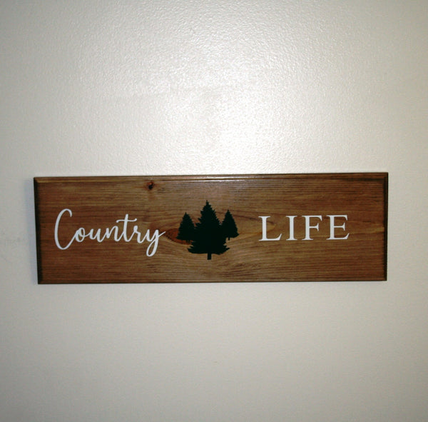 Country Life Rustic Wall Art