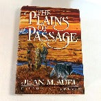 The Plains of Passage by Jean M. Auel, Hardcover, 1st Edition