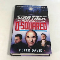 Star Trek The Next Generation, Q-Squared by Peter David, Hardcover, 1st Edition