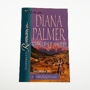 Circle of Gold by Diana Palmer, A Silhouette Romance Book