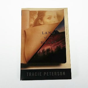 Land of my Heart by Tracie Peterson, Trade Paperback