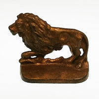 Bronze Lion Paperweight