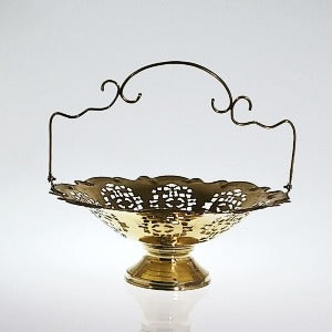 Lacquered Brass Bowl