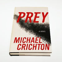 Prey by Michael Crichton, Hardcover, 1st Edition