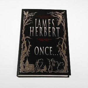 Once ... by James Herbert, Hardcover, 1st Edition