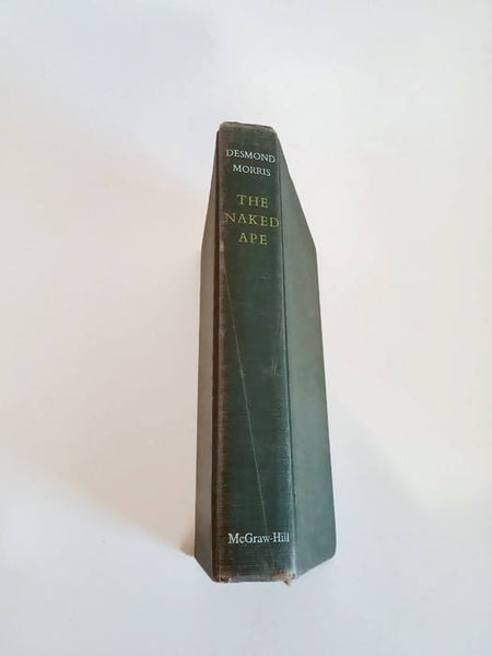 The Naked Ape by Desmond Morris/ Hardcover 1st Edition/ Science/ Human Evolution