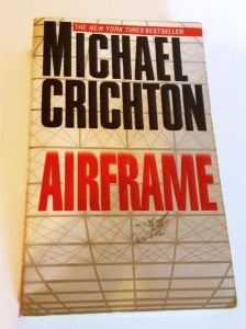 Airframe by Michael Crichton  Paperback 1st Edition Thriller