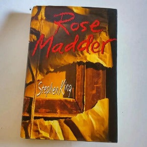 Rose Madder by Stephen King  Hardcover  1st Edition  Horror