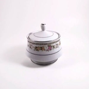 Everbrite Fine China Sugar Bowl