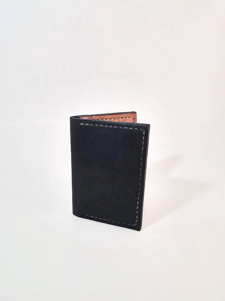 Genuine Leather Handcrafted Bi-Fold Multi-Color Wallet
