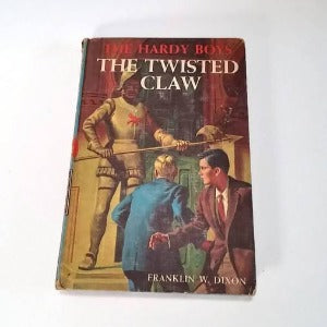 The Hardy Boys #18, The Twisted Claw by Franklin W. Dixon  Hardcover 1st Edition   Mystery/Adventure