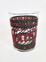 Season's Greetings Old Fashioned Glasses     Set of 4