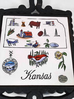 Cast Iron Kansas Trivet
