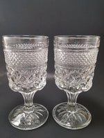 Anchor Hocking Wine Goblets, Wexford Pattern