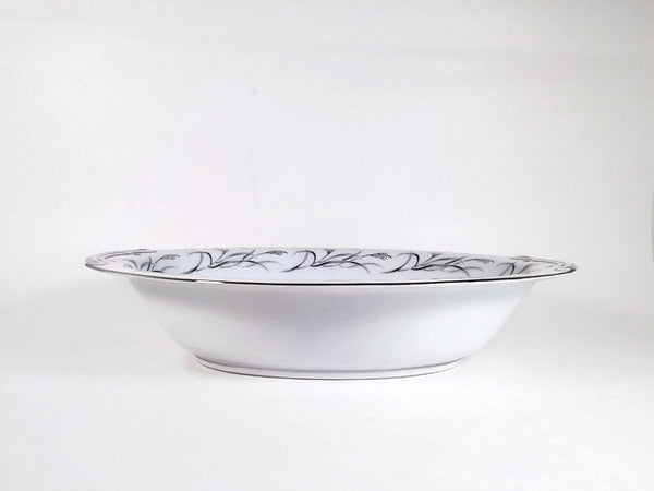 Harmony House Fine China Oval Vegetable Dish   Platinum Garland