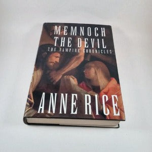 Memnoch the Devil by Anne Rice (The Vampire Chronicles #5), Hardcover, Horror, 1st Edition