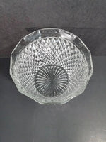 Indiana Glass Diamond Point Ice Bucket